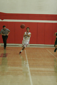 Strathmore Spartan Eric Lopez (10) starts a fastbreak against Sierra Pacific on January 17, 2013.