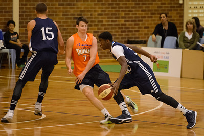 Shaun Bruce, James Walker III - Cairns Taipans v St Mary's Gaels Basketball, held at The Southport School, Gold Coast, Queensland, Australia; Tuesday 20 August 2013. Camera 1. Photos by Des Thureson - http://disci.smugmug.com.