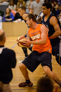 Cameron Tragardh, Brad Waldow - Cairns Taipans v St Mary's Gaels Basketball, held at The Southport School, Gold Coast, Queensland, Australia; Tuesday 20 August 2013. Camera 1. Photos by Des Thureson - http://disci.smugmug.com.