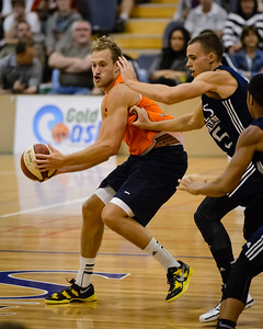 Mitch Young - Cairns Taipans v St Mary's Gaels Basketball, held at The Southport School, Gold Coast, Queensland, Australia; Tuesday 20 August 2013. Camera 1. Photos by Des Thureson - http://disci.smugmug.com.
