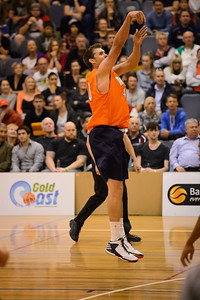 Alex Loughton - Cairns Taipans v St Mary's Gaels Basketball, held at The Southport School, Gold Coast, Queensland, Australia; Tuesday 20 August 2013. Camera 1. Photos by Des Thureson - http://disci.smugmug.com.