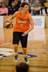 Shaun Bruce - Cairns Taipans v St Mary's Gaels Basketball, held at The Southport School, Gold Coast, Queensland, Australia; Tuesday 20 August 2013. Camera 1. Photos by Des Thureson - http://disci.smugmug.com.