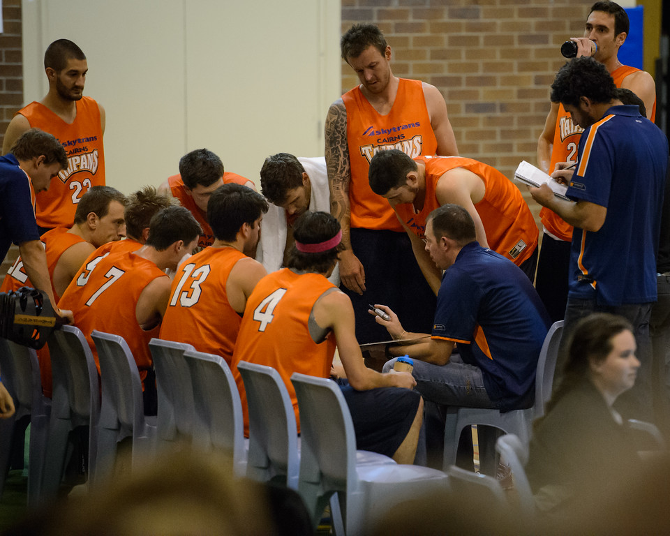 "Aaron Fearne - Cairns Taipans v St Mary's Gaels Basketball, held at The Southport School, Gold Coast, Queensland, Australia; Tuesday 20 August 2013. Camera 1. Photos by Des Thureson - <a href=""http://disci.smugmug.com"">http://disci.smugmug.com</a>."