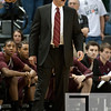 Nov 20, 2011; East Lansing, MI, USA; Arkansas Little Rock Trojans head coach Steve Shields coaches from the sides lines during the first half against the Michigan State Spartans at the Breslin Center. Mandatory Credit: Tim Fuller-US PRESSWIRE