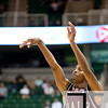 Nov 20, 2011; East Lansing, MI, USA; Arkansas Little Rock Trojans guard D'Andre Williams (10) shoots during the second half against the Michigan State Spartans at the Breslin Center. The Spartans won 69-47. Mandatory Credit: Tim Fuller-US PRESSWIRE