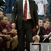 Nov 20, 2011; East Lansing, MI, USA; Arkansas Little Rock Trojans head coach Steve Shields during the first half against the Michigan State Spartans at the Breslin Center. Mandatory Credit: Tim Fuller-US PRESSWIRE