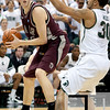 Nov 20, 2011; East Lansing, MI, USA; Arkansas Little Rock Trojans forward Will Neighbour (53) during the game against the Michigan State Spartans at the Breslin Center. Mandatory Credit: Tim Fuller-US PRESSWIRE