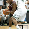 Nov 20, 2011; East Lansing, MI, USA; Arkansas Little Rock Trojans guard D'Andre Williams (10) looks to get past Michigan State Spartans guard Keith Appling (11) during the first half at the Breslin Center. Mandatory Credit: Tim Fuller-US PRESSWIRE
