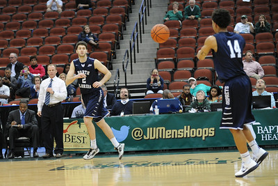 The University of North Florida Ospreys beat the Jacksonvillae University Dolphins, earning them a place in the Atlantic Sun Championship.