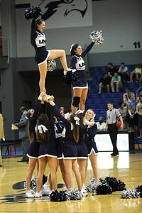 The UNF Ospreys upset Savannah State in mens basketball.