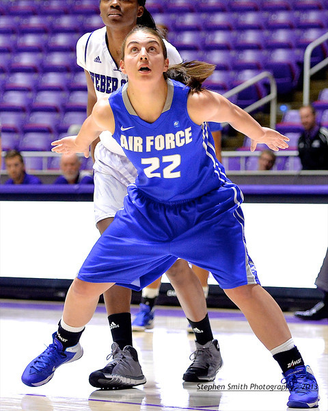 Weber State Takes on USAF Academy Basketball