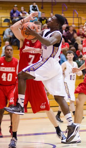 M.Basketball-Laurier Golden Hawks vs Memorial Sea-Hawks