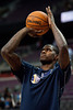 Jan 12, 2013; Auburn Hills, MI, USA; Utah Jazz power forward Marvin Williams (2) warms up before the game against the Detroit Pistons at The Palace. Mandatory Credit: Tim Fuller-USA TODAY Sports