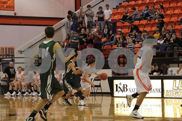 Varsity Basketball vs Canyon Lake