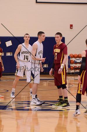 Eastern York Boys Varsity Basketball vs Columbia
