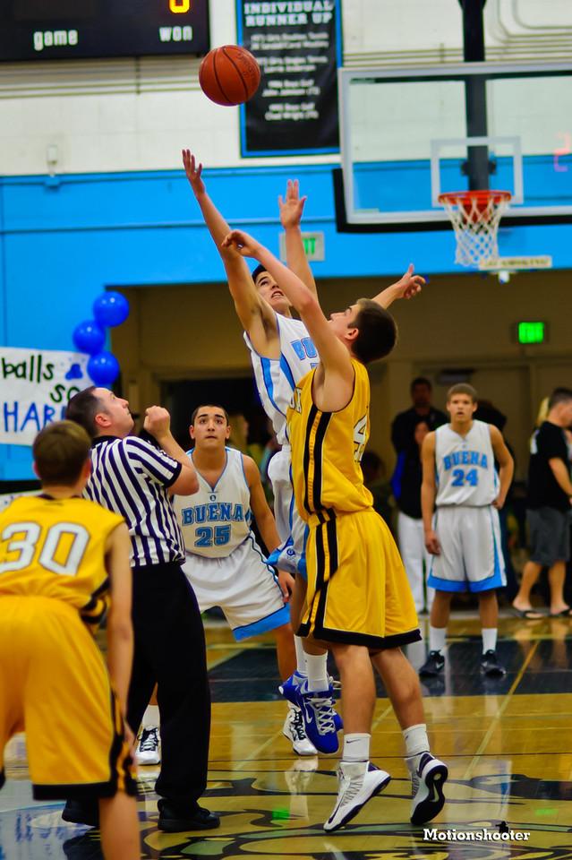 Ventura at Buena Boys JV Basketball