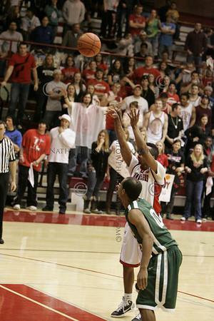 WSC-Adams St Basketball Men 2/26/11