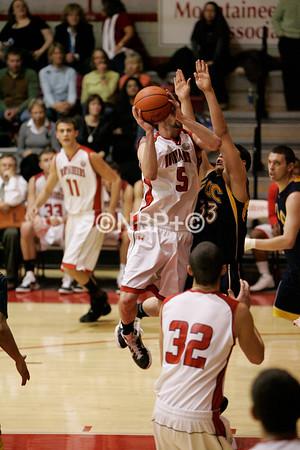WSC-Ft Lewis Basketball Men 2/25/11