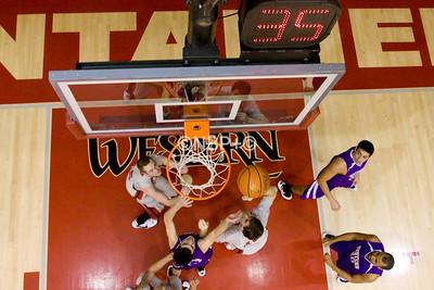 WSC Men's basketball vs Western N.M. 2/14/09