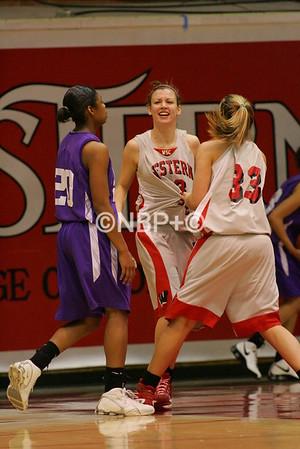 WSC Women's basketball vs Western N.M. 2/14/09