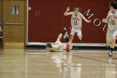 WSC vs Regis Basketball women 12/13/09