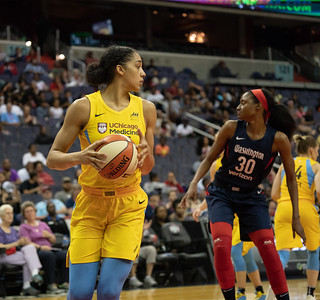 Washington Mystics, Chicago Sky, WNBA