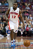 Dec 21, 2012; Auburn Hills, MI, USA; Detroit Pistons point guard Will Bynum (12) during the fourth quarter against the Washington Wizards at The Palace. Pistons won 100-68. Mandatory Credit: Tim Fuller-USA TODAY Sports