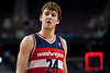 Dec 21, 2012; Auburn Hills, MI, USA; Washington Wizards small forward Jan Vesely (24) after the game against the Detroit Pistons at The Palace. Pistons won 100-68. Mandatory Credit: Tim Fuller-USA TODAY Sports