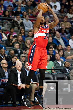 Dec 21, 2012; Auburn Hills, MI, USA; Washington Wizards power forward Cartier Martin (20) during the first quarter against the Detroit Pistons at The Palace. Mandatory Credit: Tim Fuller-USA TODAY Sports