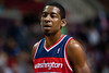 Dec 21, 2012; Auburn Hills, MI, USA; Washington Wizards guard Jordan Crawford (15) during the fourth quarter against the Detroit Pistons at The Palace. Pistons won 100-68. Mandatory Credit: Tim Fuller-USA TODAY Sports