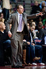 Dec 21, 2012; Auburn Hills, MI, USA; Detroit Pistons head coach Lawrence Frank during the third quarter against the Washington Wizards at The Palace. Pistons won 100-68. Mandatory Credit: Tim Fuller-USA TODAY Sports