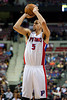 Dec 21, 2012; Auburn Hills, MI, USA; Detroit Pistons power forward Austin Daye (5) during the fourth quarter against the Washington Wizards at The Palace. Pistons won 100-68. Mandatory Credit: Tim Fuller-USA TODAY Sports