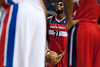 Feb 13, 2013; Auburn Hills, MI, USA; Washington Wizards small forward Chris Singleton (31) shoots a free throw during the second quarter against the Detroit Pistons at The Palace. Mandatory Credit: Tim Fuller-USA TODAY Sports