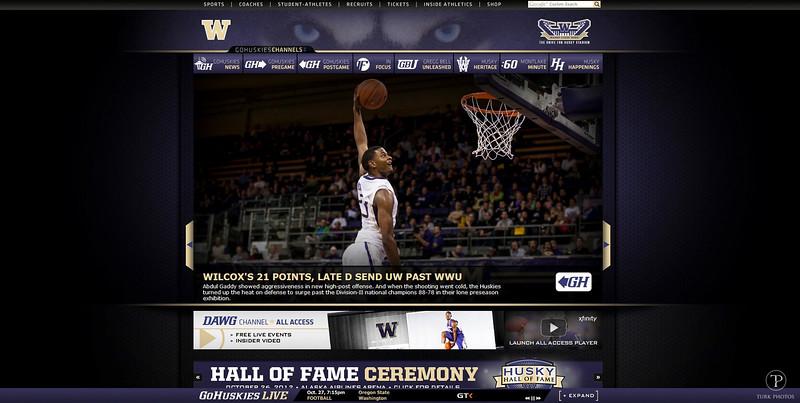 UW Basketball Cover