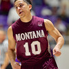 Weber State and Montana in Big Sky Basketball Action
