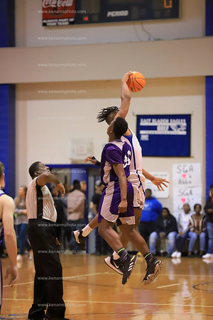 West Bladen vs East Bladen 2020 boys basketball