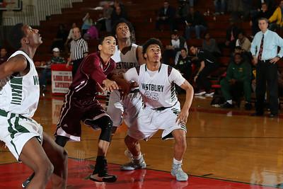 Westbury vs Bay Shore Boys Basketball. Photos by Chris Bergmann