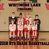 2018 Whitmore Lake 8th Grade Girls Basketball 8x10