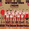 2018 Whitmore Lake 7th Grade Girls Basketball 8x10