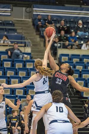 2018-02-10 CSUN vs UC Davis women