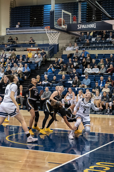 The Drive. It's Up. She's fouled. It Counts!