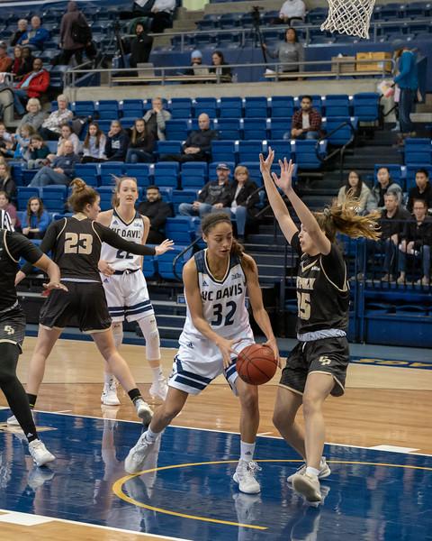 Cierra Hall finds a new way to rebound