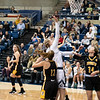 Emma Gibb offensive rebound and score