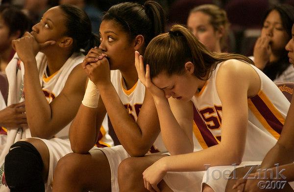 Womens vs. ASU 2007