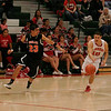 Lindsay Cardinals defeated the Woodlake Tigers 61-56 on Thurdsay, February 13, 2014.