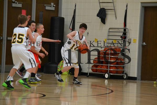 AVW @ MHLT 7th/8th grade boys' basketball 12-9-13
