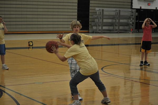 Girls Basketball Camp Part 2