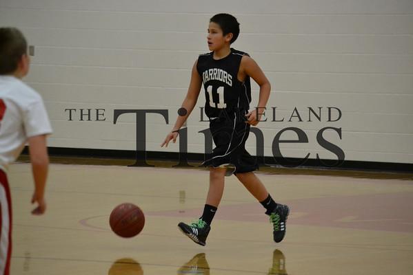 LDF @ AV-W 7th/8th grade boys basketball 12-3-13