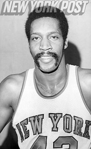 New York Knicks Harthorne Wingo close up. 1975