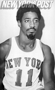 New York Knicks Dennis Bell vintage close up. 1973